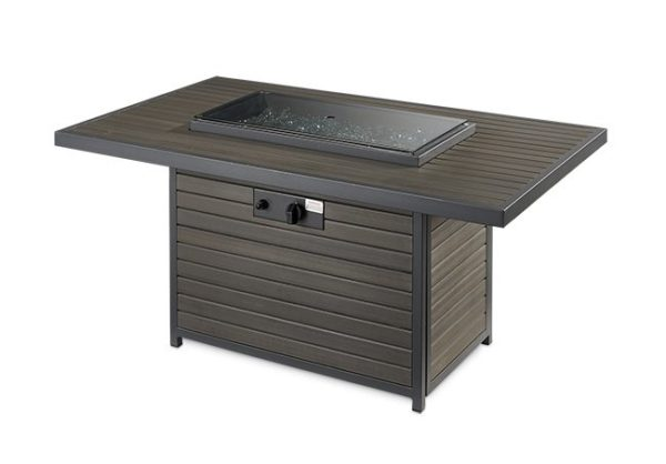Brooks Rectangular Fire Table | Patio Bay