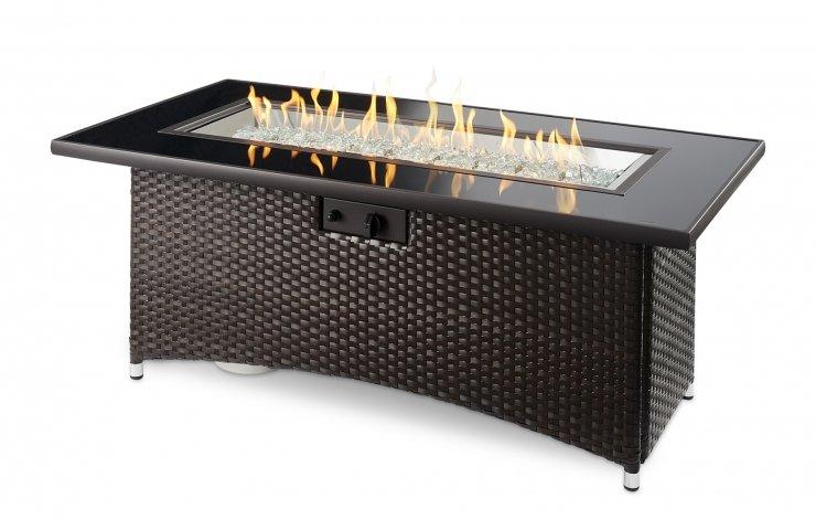 Montego Gas Fire Table   Patio bay