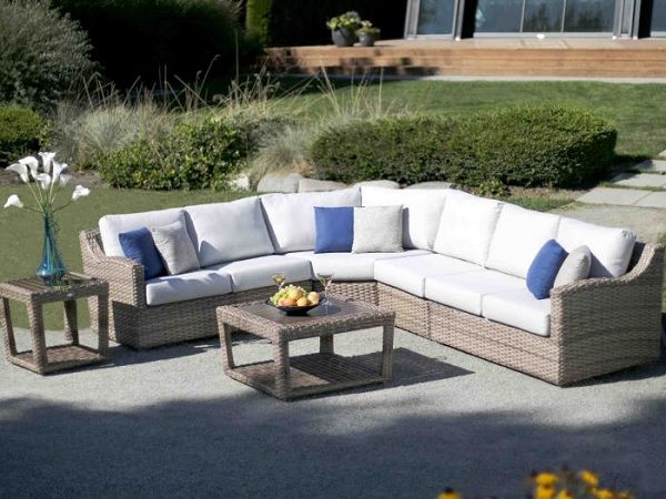 Auckland Bay sectional Ratana | Shop Patio bay