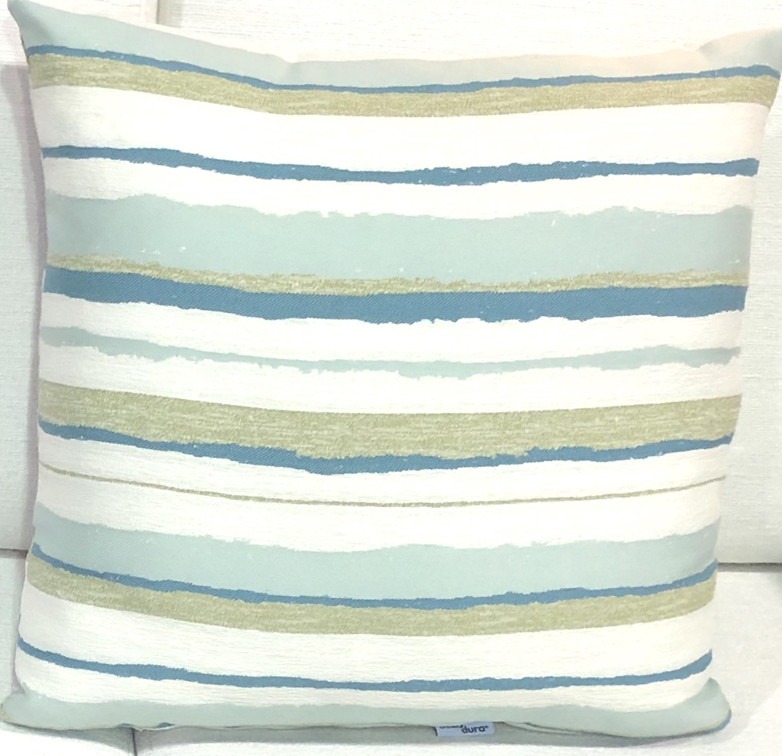 Stiped toss pillows to accent patio cushions canada.