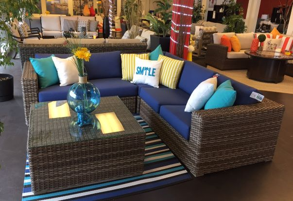 nottingham sectional ratana | Patio Bay