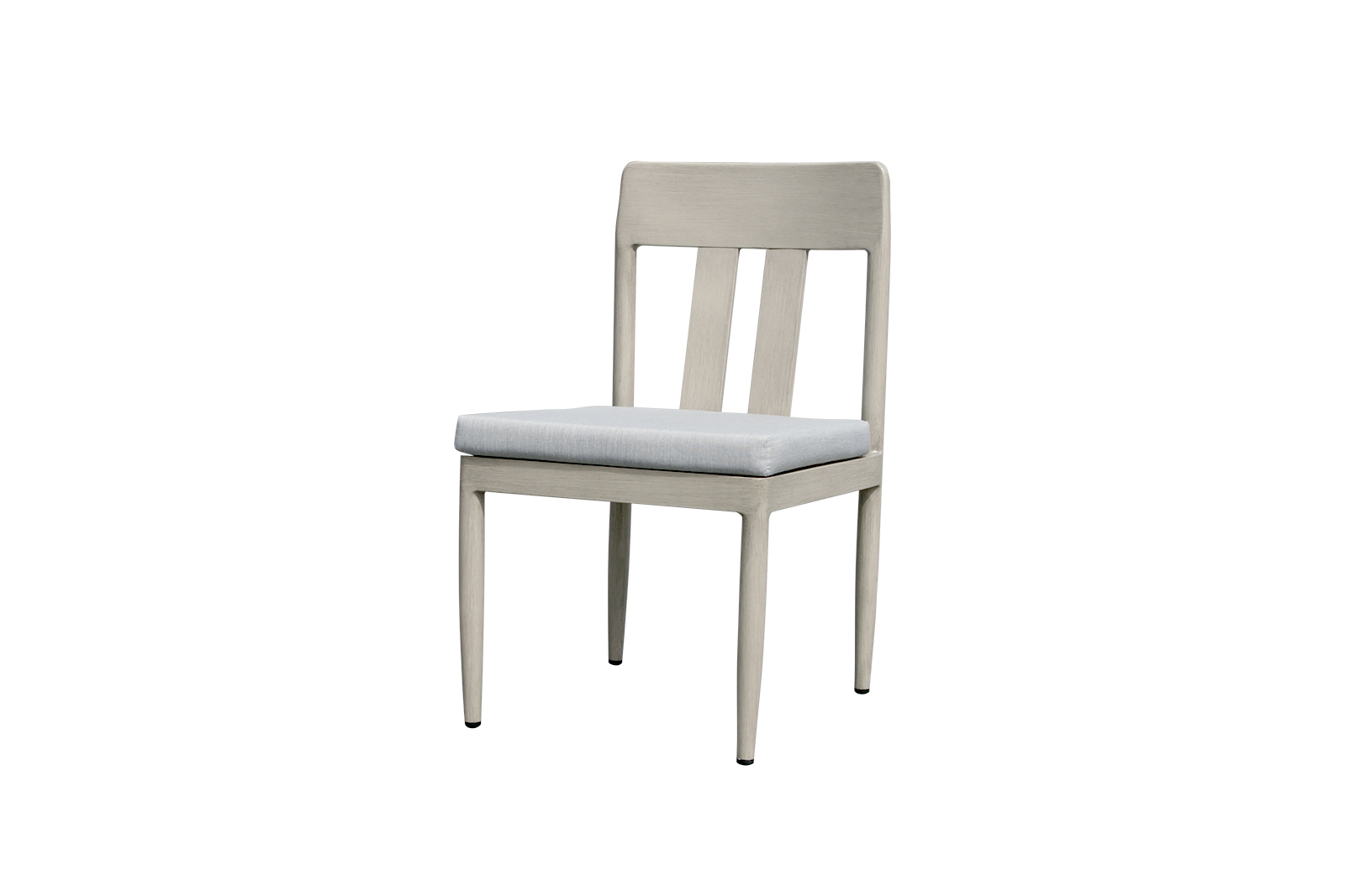 Polanco dining side chair with Idol Frost seat cushion.