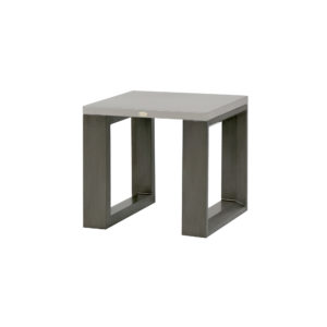 The Element 5.0 end table with ash grey frame.