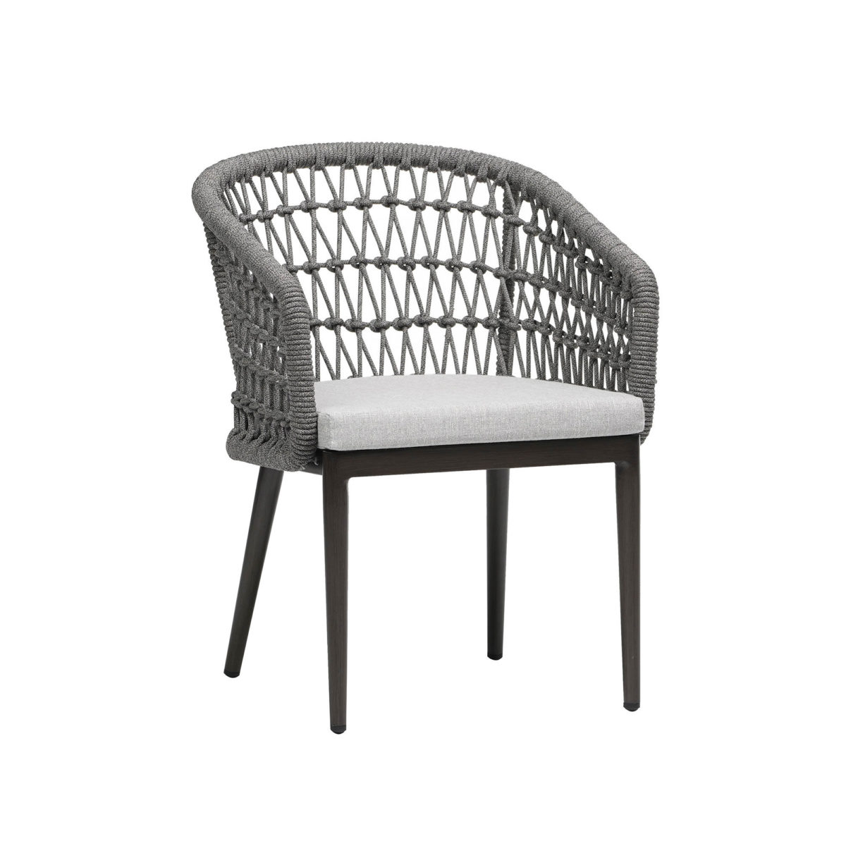 The Poinciana dining arm chair.