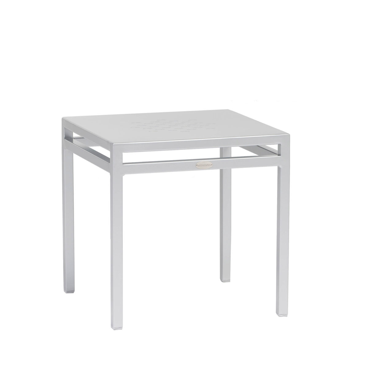 The Toscana lounger side table in grey.