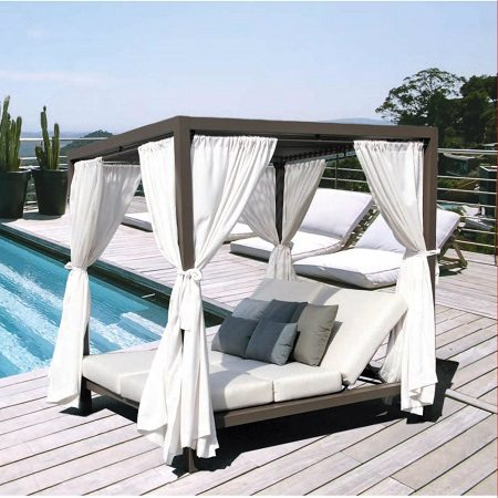 Outdoor furniture Canada with the Gianna Daybed.