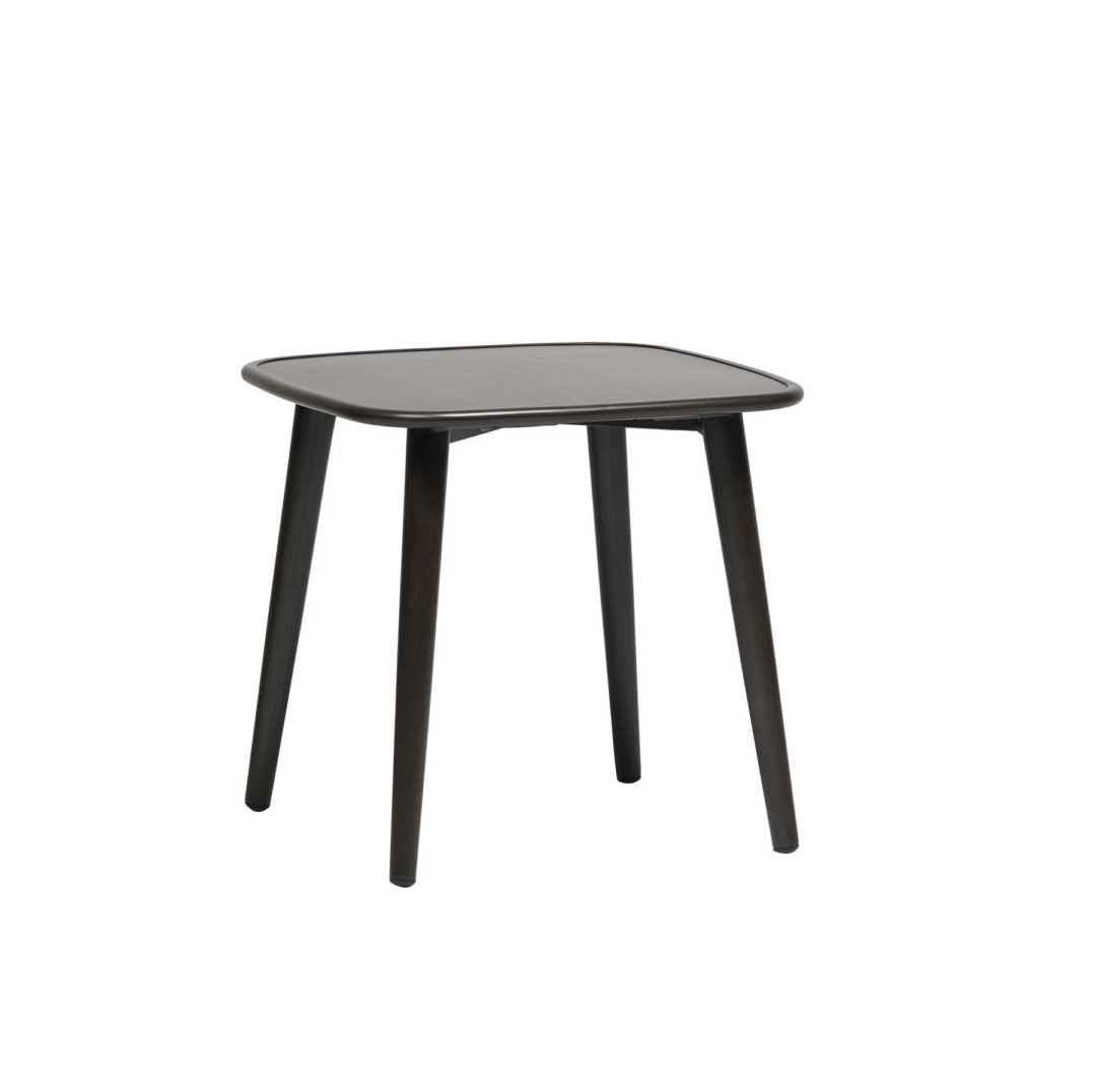 The Poinciana end table in ash grey.
