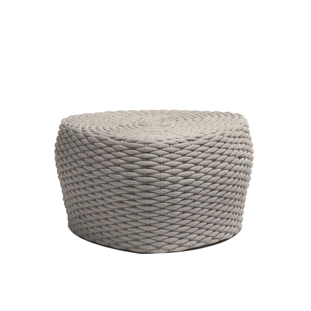The short Roca stool in Beige