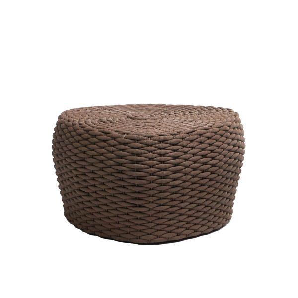 Roca stool in brown.