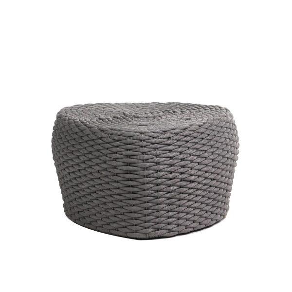 The Roca short stool in grey.