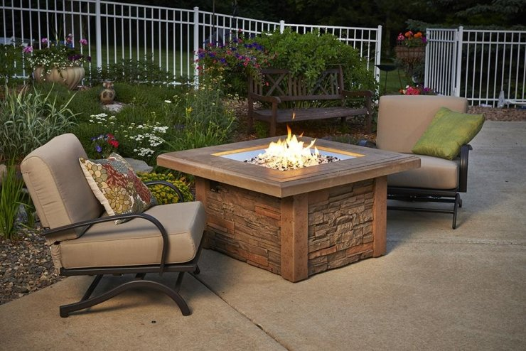 The Sierra gas fire tables Ottawa.